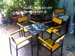 Lô bàn ghế nhà hàng, quán nhậu giá rẻ, chỉ 550k/bộ