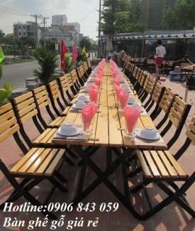 Bàn ghế nhà hàng, quán nhậu, quán ăn giá rẻ...