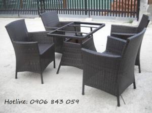 Thanh lý nhanh lô bàn ghế cà phê sân vườn giá rẻ, miễn phí vận chuyển toàn quốc