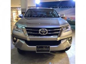 Bán Toyota Fortuner 2.7V (4x2) máy xăng, 01 cầu, giao ngay, trả góp 90%