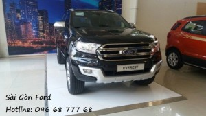 Gía xe Ford Everest 7 chổ