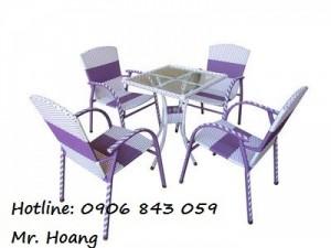 Bộ bàn ghế cà phê MS1