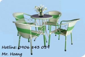 Bộ bàn ghế cà phê MS2