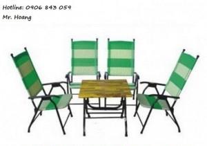 Bộ bàn ghế cà phê MS4