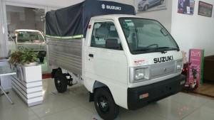 Bán xe tải suzuki carry truck thùng mui bạt 630kg đời 2017
