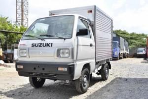 Bán xe tải suzuki carry truck thùng kín 615 kg đời 2017