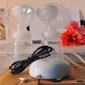 Máy hút sữa massage điện đôi
