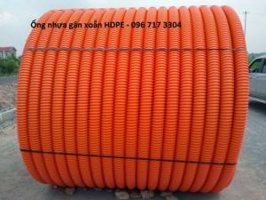 Ống nhựa xoắn HDPE phi 50/40
