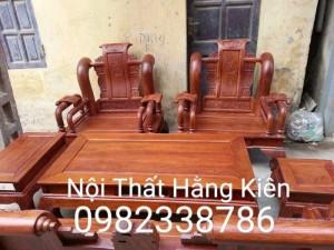 Bộ ghế Tần cột 12 gỗ hương vân Cực đẹp về PHONG THỦY hàng làm cực kỹ .giao hàng TOÀN QUÔC
