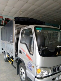 Xe tải 2t4 JAC công nghệ ISUZU Nhật Bản.