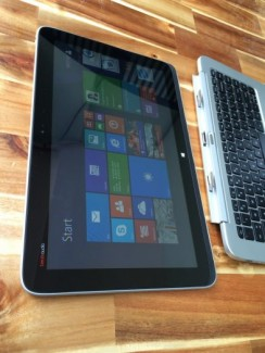 Laptop kim tablet Hp split 13 X2, i5 4202Y, 4G, ssd128G, pin 7h, giá rẻ