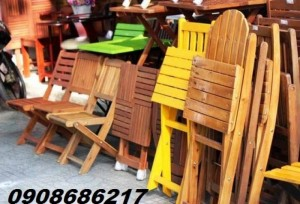 Thu các loại bàn ghế cafe quán hậu giá cao