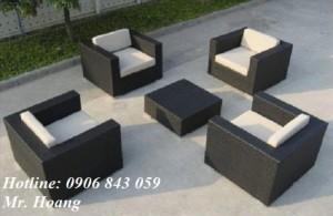 Bộ bàn ghế sofa cafe MS2