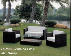 Bộ bàn ghế sofa cafe MS3
