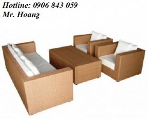 Bộ bàn ghế sofa cafe MS5