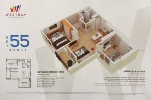 Cần bán cắt lỗ căn hộ chung cư EcoPark toà West Bay Sky Residences