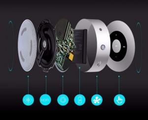 Loa Không Dây KELING A8 cảm ứng, Hỗ Trợ Thẻ Nhớ, Âm thanh vòm siêu trầm - MSN181155