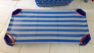 giường vải lưới màu xanh dương giá rẻ