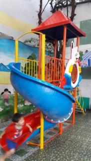 Liên hoàn cầu trượt cho trẻ em