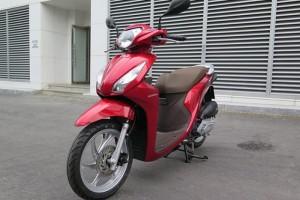 Honda Vision Fi màu đỏ 2k15 mới 99% chính chủ xe đẹp máy êm