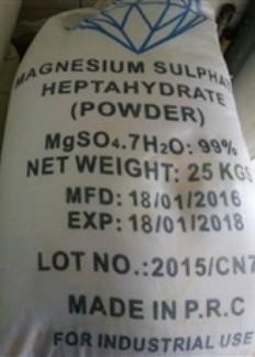 Magie sulphate - công ty tnhh xuất nhập khẩu agrivina