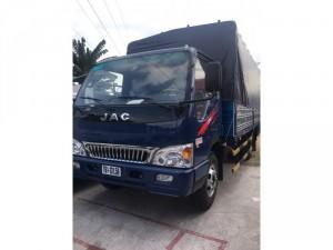 Bán xe tải jac 4,9 tấn đóng sẵn thùng xe 2017 trả góp giá tốt