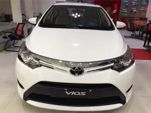 Bán xe Toyota Vios 1.5G CVT, khuyến mãi 55 triệu, trả góp 90%