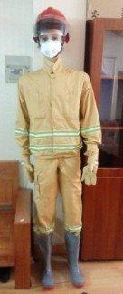 Quần áo PCCC theo thông tư 48