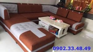 Sofa phòng khách tặng kèm bàn gỗ cao cấp y hình