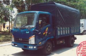 Xe Tải 2400kg ( thùng mui bạt)