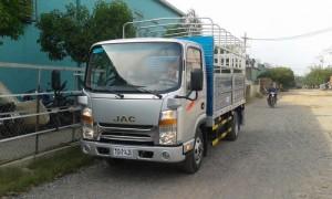 Xe tải Jac 1T9 cabin vuông thùng dài 4.3 mét