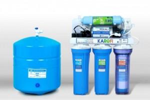 Bạn không cần mất nhiều thời gian dành cho việc đun nước mà chỉ cần một chiếc máy lọc nước Karofi