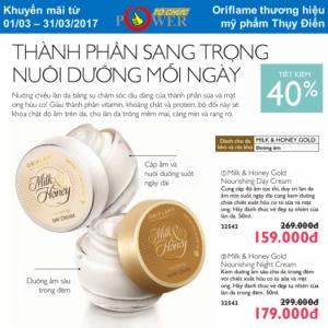Milk & honey gold: Dành cho da khô và rất khô