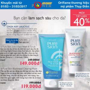 PURE SKIN: Ngăn ngừa mụn