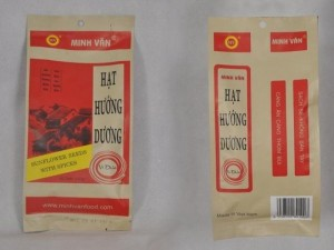 Hạt hướng dương Minh Văn vị sữa dừa loại 100gam (80 gói/thùng)