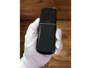 Nokia 8800 saphira black likenew zin all