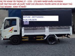 Xe tải 1t5/ Xe tải veam 1t5 thùng dài/Xe tải veam giá tốt ở tphcm/ Xe tải 1t5 huyndai