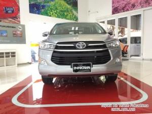 Khuyến Mãi Mua Toyota Innova E 2018 7 túi khí Số Sàn Màu Bạc 140Tr. Trả Góp 11Tr/Tháng. Vay Đến 8 Năm.Xe Giao Ngay