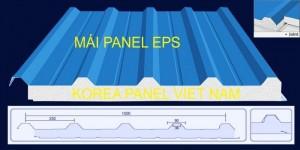 Tấm panel mái chống nóng, chống ồn, chống cháy công nghệ Hàn Quốc