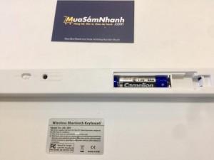 Bàn phím không dây Keyboard Bluetooth KB16 mini, sản phẩm công nghệ cao - MSN388054