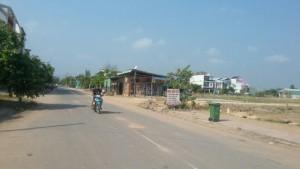 Đất mặt tiền Lý Thái Tổ, Nhơn Trạch 300m sổ đỏ đối diện chợ Đại Phước