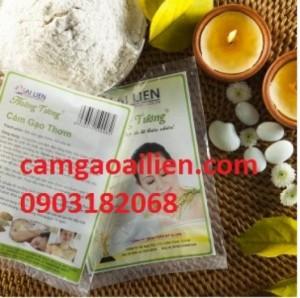 Bột cám gạo thơm - Combo 6 gói cám gạo