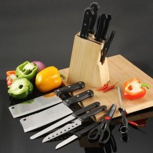 Bộ Dao Kéo Làm Bếp 8 Món Thép Không Gỉ -...