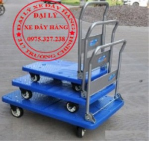 Địa chỉ bán xe đẩy 4 bánh, xe kéo hàng 300kg, xe đẩy hàng đa năng, xe đẩy 2 bánh chính hãng
