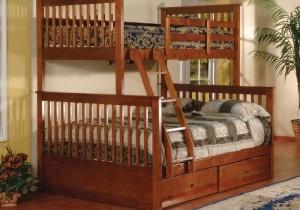 Giường Bella Esprit 2 tầng 2 ngăn kéo