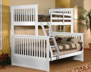 Giường bella Esprit màu trắng