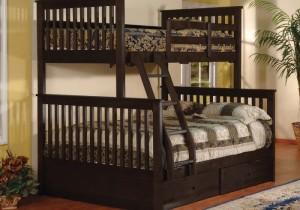 Giường bella Esprit màu nâu