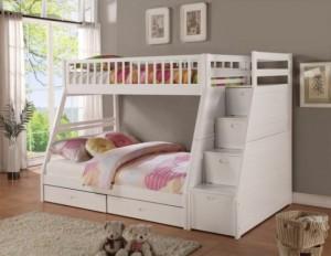 Giường Bella 2 tầng, 2 ngăn kéo
