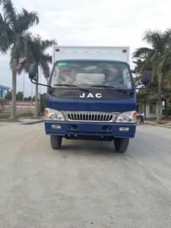 Xe tải Jac 4.9 tấn kiểu dáng mới được thiết kế hiện đại với cabin xát xi cứng cáp & chắc chắn,