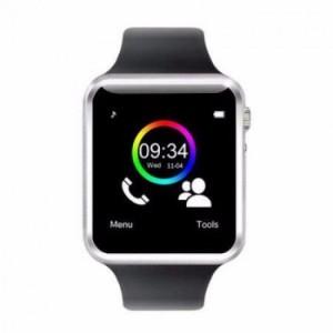 Đồng hồ kiêm điện thoại thông minh A1màu bạc
